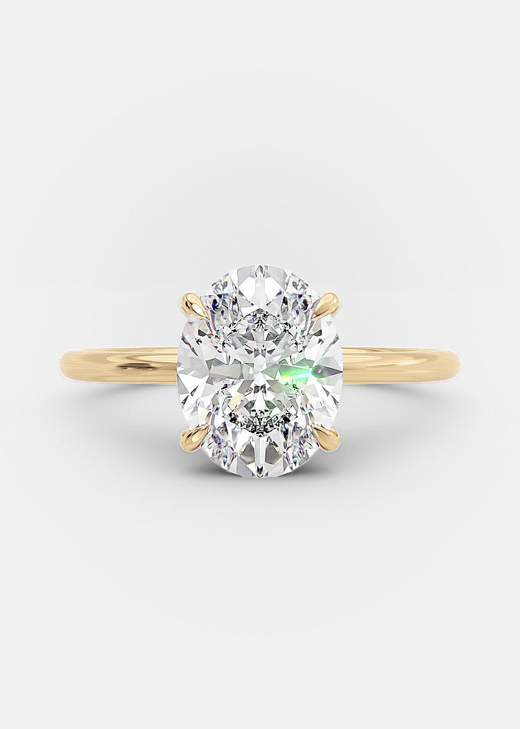2 carat oval diamond