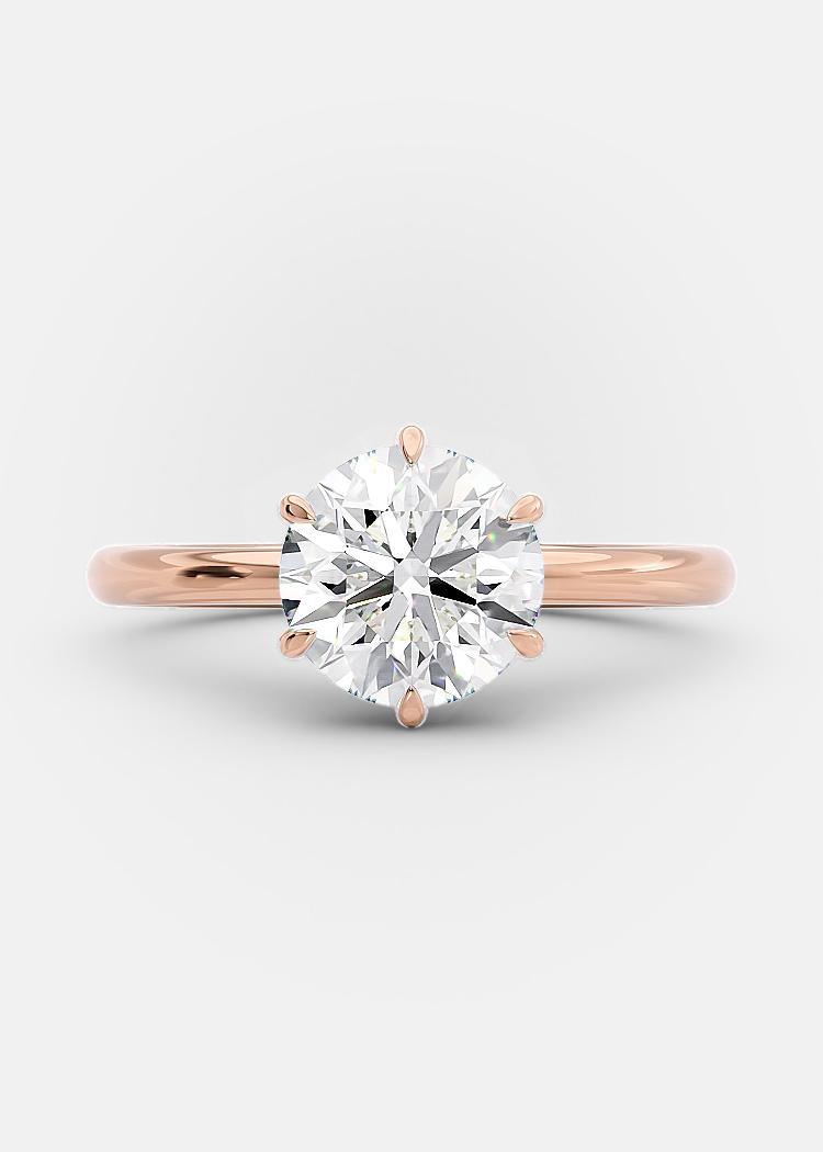 1.5 carat round brilliant diamond