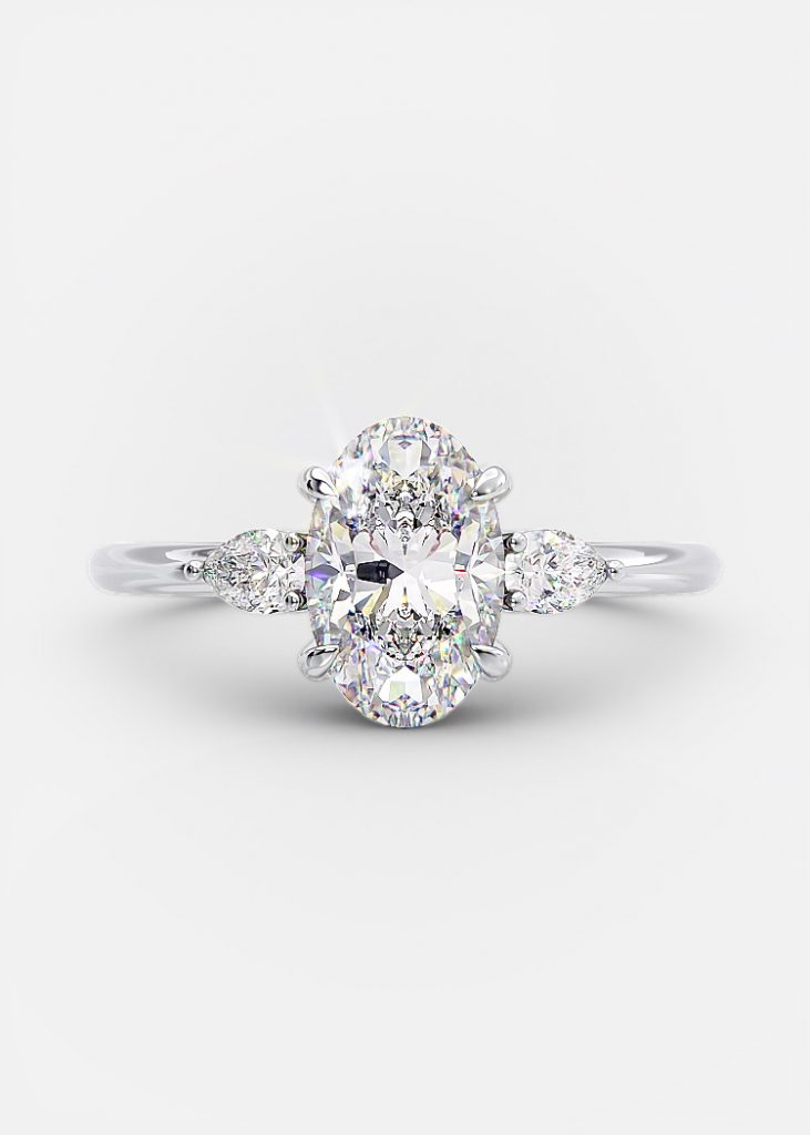 One carat oval
