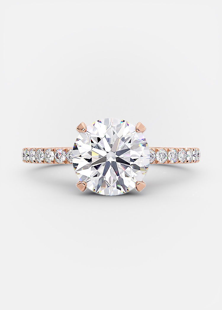2 carat round brilliant diamond
