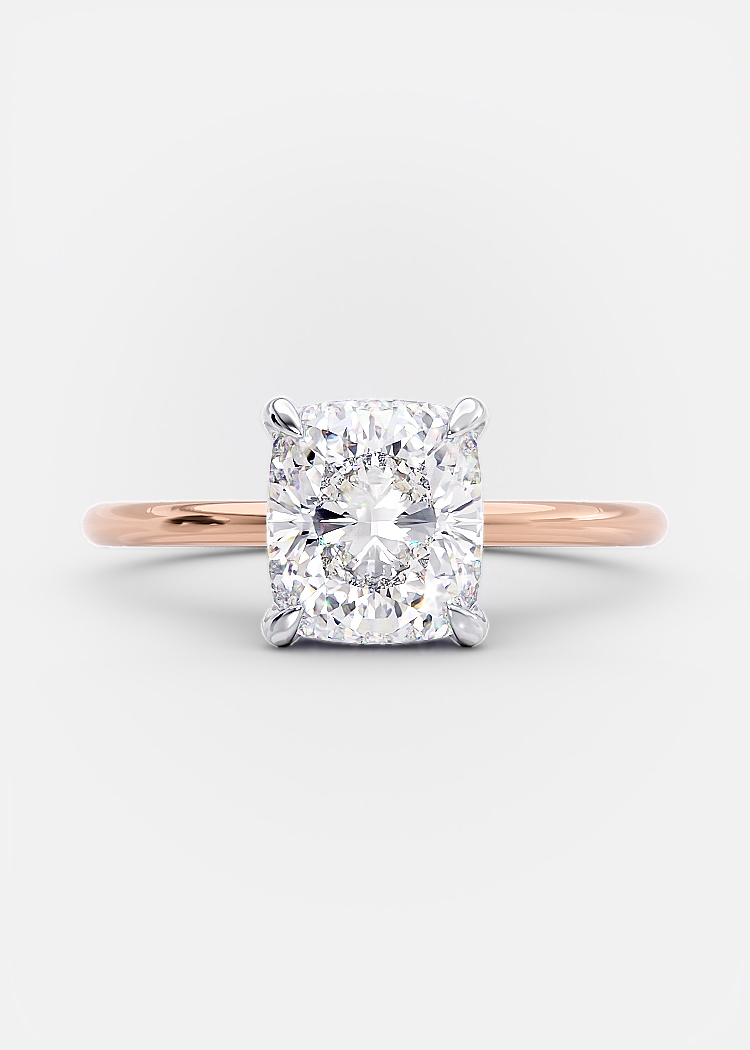 1.7 carat cushion cut diamond