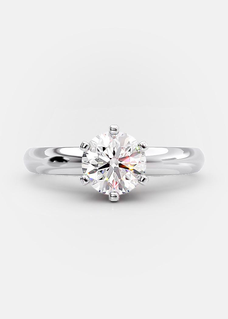 1.02 carat round brilliant diamond