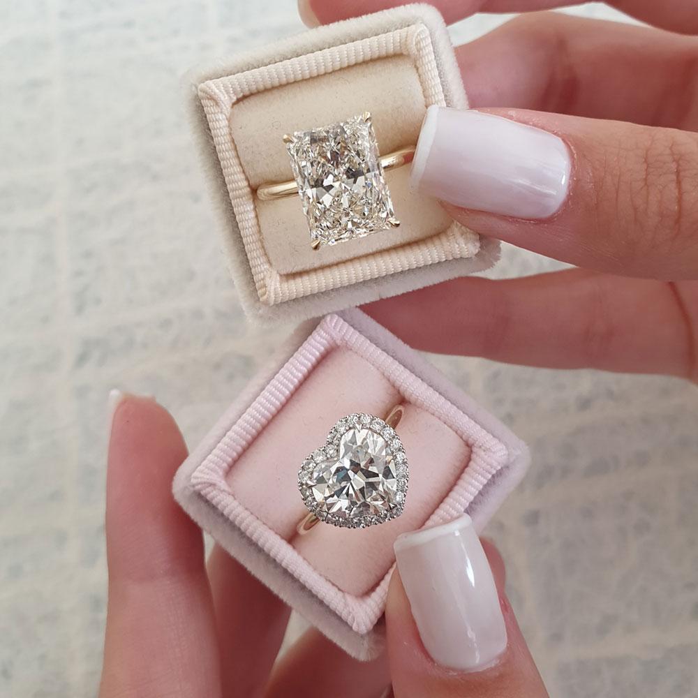 real and fake diamonds