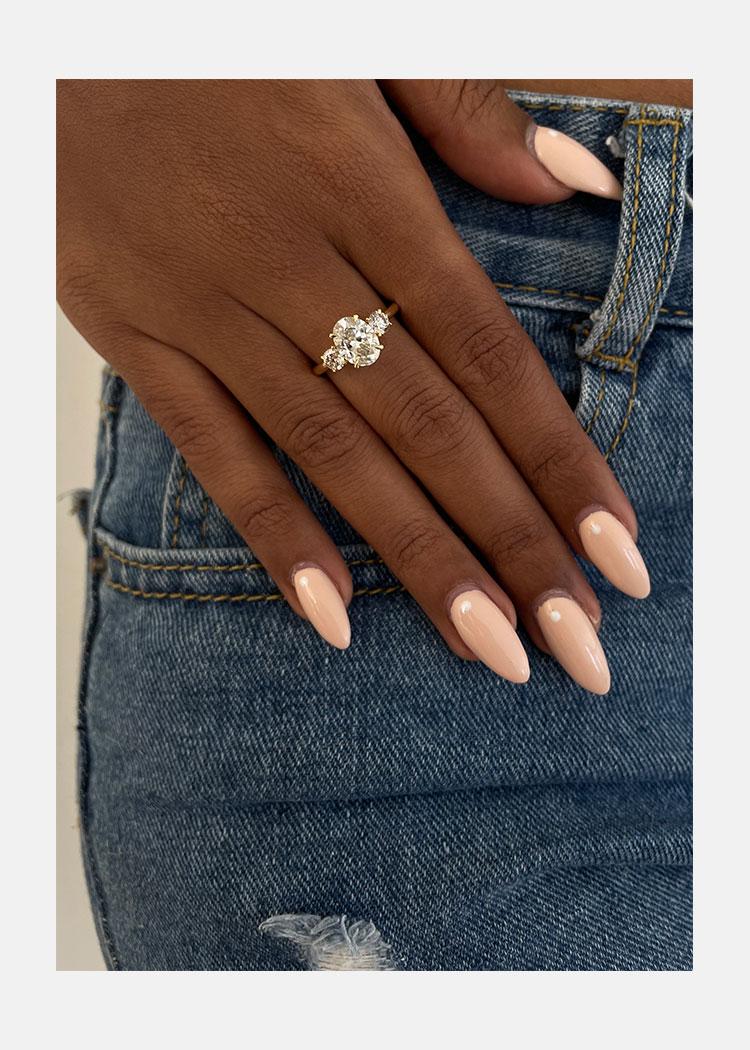 Remounting Engagement Ring