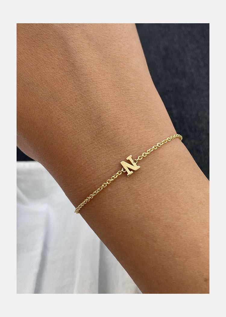 initial bracelet